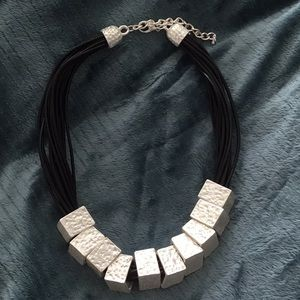 Jewelry - Black corded necklace